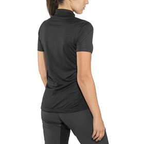 SQUARE Performance Trikot kurzarm Damen black